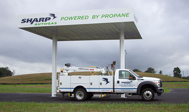 Propane autogas fueling station