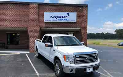 Sharp Energy Propane Gas office in Mattaponi, Virginia.