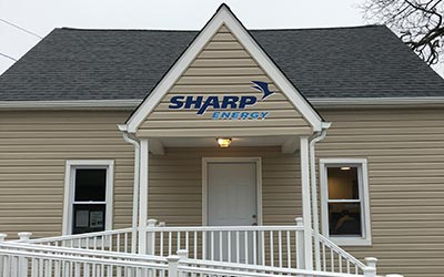 Sharp Energy Propane Gas office in Glen Burnie, Maryland.
